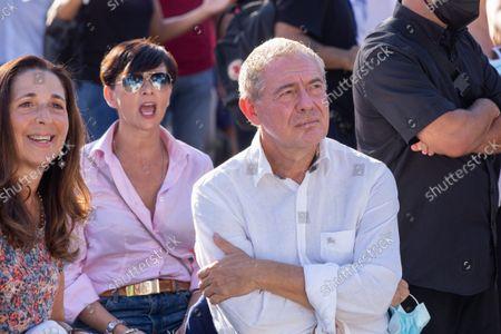 Editorial image of Giorgia Meloni and Enrico Michetti in Rome, Italy - 18 Sep 2021