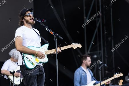 James Vincent McMorrow Performing On The Main Stage At The Isle Of Wight Festival 2021