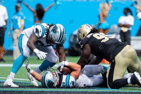 Editorial picture of NFL New Orleans at Carolina, Charlotte, USA - 19 Sep 2021
