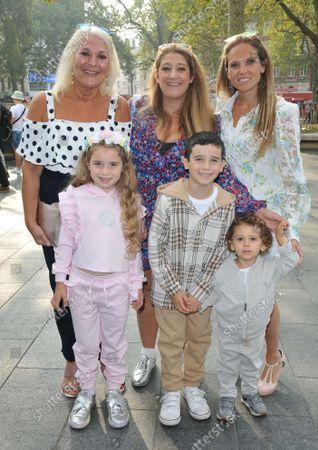 Vanessa Feltz and children