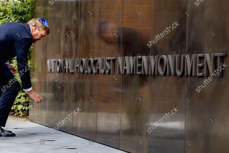 King Willem-Alexander unveils Holocaust Monument, Amsterdam