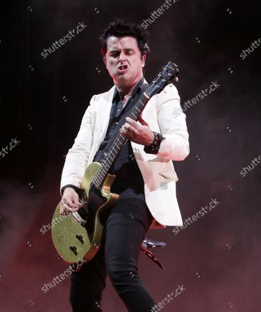Stock Image of Billie Joe Armstrong - Green Day