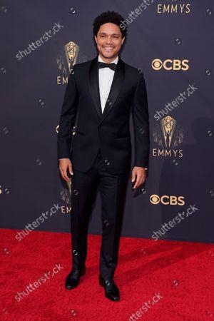 Trevor Noah arrives at the 73rd Primetime Emmy Awards, at L.A. Live in Los Angeles