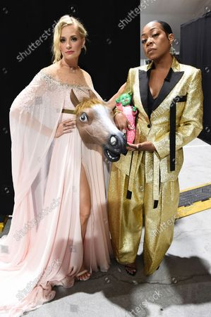 Editorial picture of 73rd Emmy Awards - Roaming Show, Los Angeles, United States - 19 Sep 2021