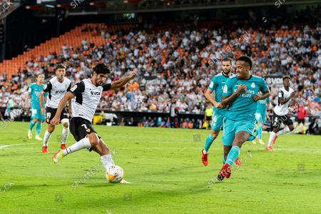 Editorial image of Valencia CF Vs Real Madrid in Valencia, Spain - 19 Sept 2021