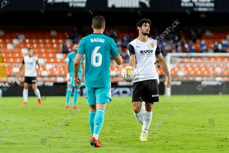 Editorial picture of Valencia CF Vs Real Madrid in Valencia, Spain - 19 Sept 2021