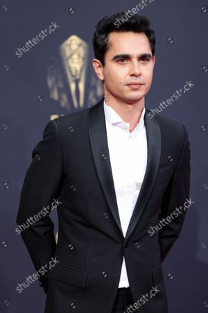 Max Minghella attends the 73rd Primetime Emmy Awards at L.A. Live on Sunday, Sept. 19, 2021 in Los Angeles, CA.