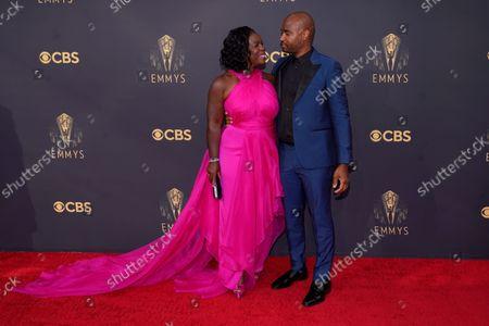 Editorial image of 2021 Primetime Emmy Awards - Arrivals, Los Angeles, United States - 19 Sep 2021