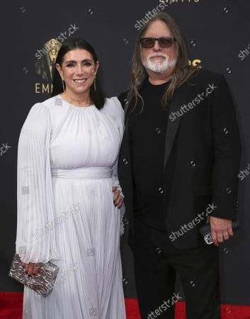 Editorial image of 73rd Emmy Awards - Step and Repeat on Red Carpet, Los Angeles, USA - 19 Sep 2021