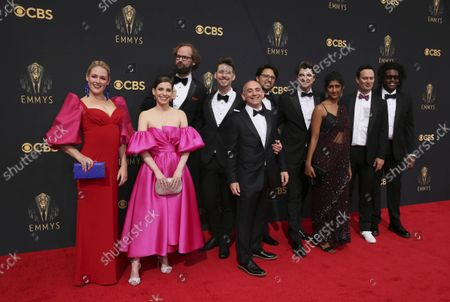 Editorial picture of 73rd Emmy Awards - Step and Repeat on Red Carpet, Los Angeles, USA - 19 Sep 2021