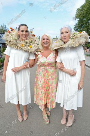 Parsley Box models Tara Pain and Valerie Pain with Vanessa Feltz