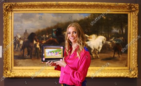 Jodie Kidd unveils MY LITTLE PONY Magical Gallery, a cutting edge augmented reality app that will transform ten of the National Gallery's most famous horse paintings into My Little Pony original illustrations from today until 1st November. The app is free and available on iOS and Android. My Little Pony: A New Generation is only on Netflix on Friday 24th September