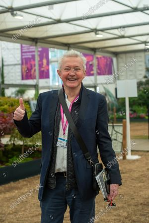X Factor judge Louis Walsh. It was busy day at the Press Day for the first Autumnal RHS Chelsea Flower Show.