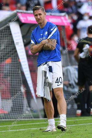 Stock Picture of Sebastian Polter (Bochum) disappoints after the game ends
