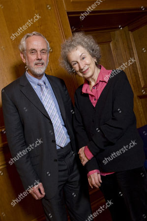 Margaret Atwood and Sir Brian Hoskins