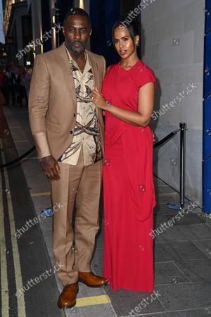 Stock Photo of Idris Elba and Sabrina Dhowre Elba