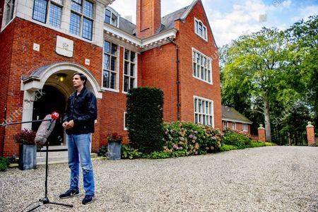 Editorial picture of De Zwaluwenberg estate, Training talks, Hilversum, Netherlands - 20 Sep 2021
