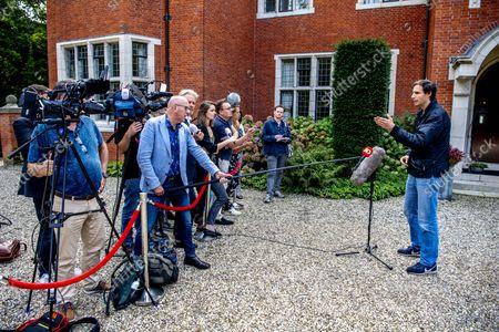 Editorial image of De Zwaluwenberg estate, Training talks, Hilversum, Netherlands - 20 Sep 2021