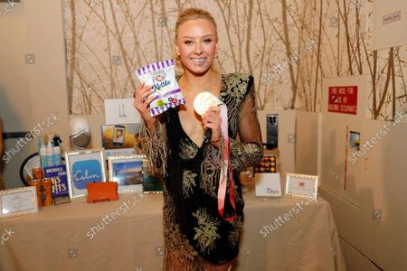 Stock Image of Jessica Long at the Backstage Creations Giving Suite during the 73rd Primetime Emmy Awards on at L.A. LIVE in Los Angeles