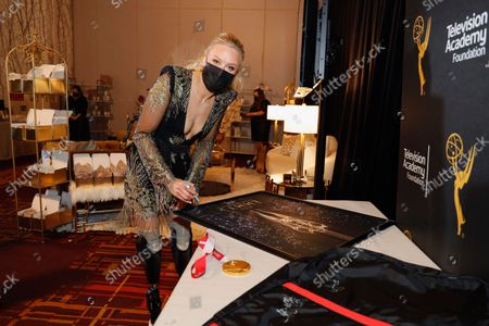 Jessica Long at the Backstage Creations Giving Suite during the 73rd Primetime Emmy Awards on at L.A. LIVE in Los Angeles