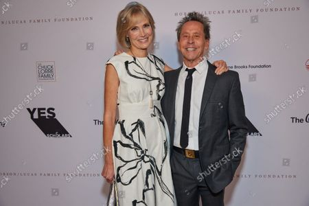 Willow Bay and Brian Grazer