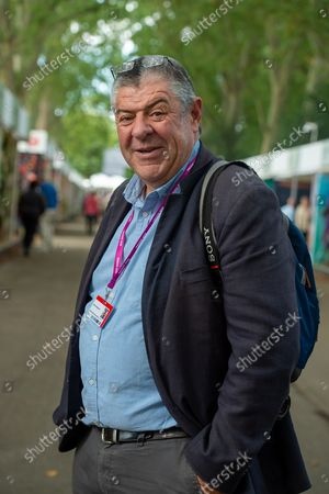 Stock Picture of Head Gardener John Anderson from Savill Garden in Egham part of the Crown Estate. It was busy day at the Press Day for the first Autumnal RHS Chelsea Flower Show. The show was cancelled last year following the Covid-19 Pandemic