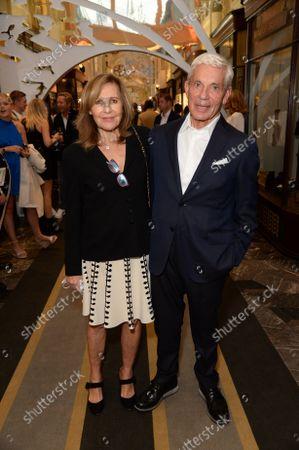 Stock Photo of Simon and Joyce Reuben