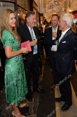 Stock Image of Simon and Joyce Reuben, Celia Walden and Piers Morgan