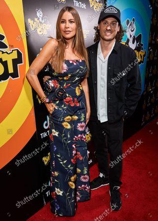 Sofia Vergara and Robbie Earl