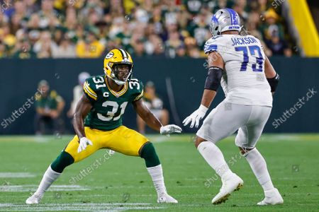 Editorial photo of Lions Packers Football, Green Bay, United States - 20 Sep 2021