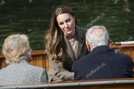 Catherine Duchess of Cambridge. Her Royal Highness' visit will mark the re-opening of the RAF Air Cadets' Windermere Adventure Training Centre.21 Sep 2021