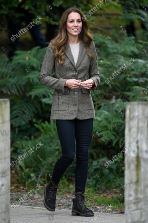 Catherine Duchess of Cambridge. Her Royal Highness' visit will mark the re-opening of the RAF Air Cadets' Windermere Adventure Training Centre.