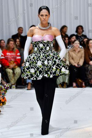 Editorial picture of Richard Quinn show, Runway, Spring Summer 2022, London Fashion Week, UK - 21 Sep 2021