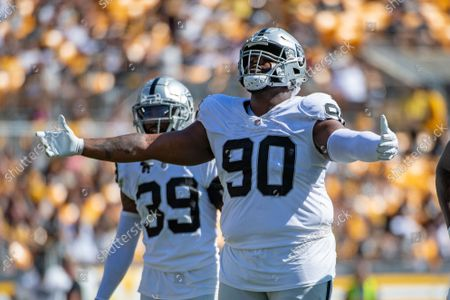Editorial picture of Raiders Steelers Football, Pittsburgh, United States - 19 Sep 2021