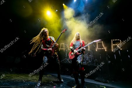 Editorial photo of Avatar -Jonas Jarlsby, Tim Ohrstrom in concert, DTE Energy Music Theatre, Clarkston, USA - 18 Sep 2021
