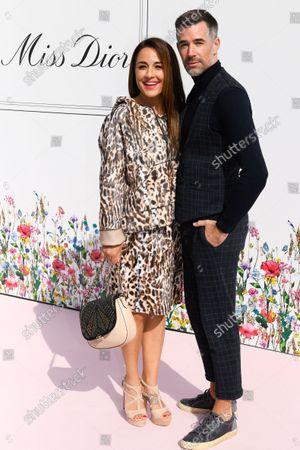 Stock Image of Nina Moghaddam and Jo Weil