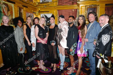 Editorial picture of BFC Changemakers Prize in partnership with Swarovski, Annabel's, London, UK - 21 Sep 2021