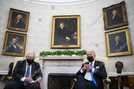 Editorial image of Biden Meets PM Boris Johnson of Great Britain, Washington, District of Columbia, USA - 21 Sep 2021