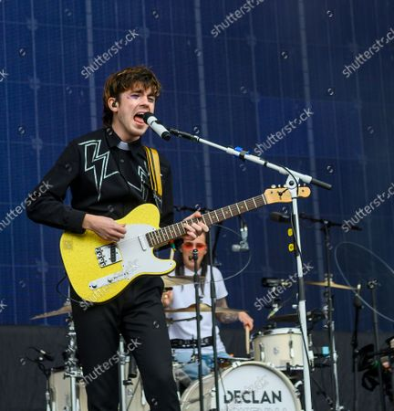 Declan McKenna performs on the Main Stage day 3 of TRNSMT Festival 2021