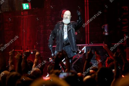 Editorial photo of Judas Priest in concert, Rosemont Theatre, Illinois, USA - 20 Sep 2021