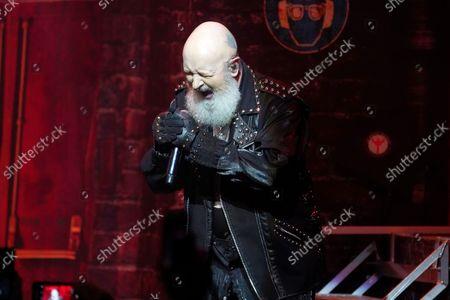 Editorial picture of Judas Priest in concert, Rosemont Theatre, Illinois, USA - 20 Sep 2021