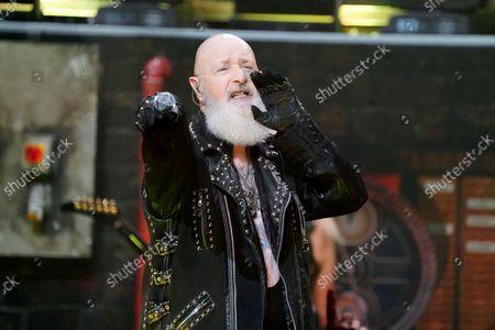 Editorial image of Judas Priest in concert, Rosemont Theatre, Illinois, USA - 20 Sep 2021