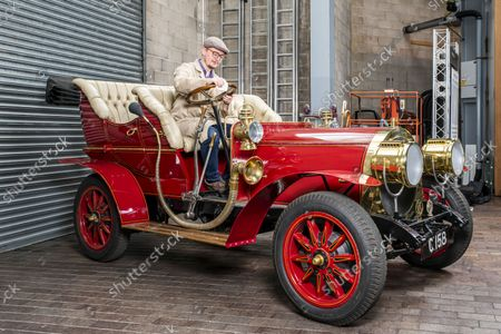 Editorial picture of Mr Toad's car inside the National Motor Museum, Beaulieu, Hampshire, UK - 09 Sep 2021