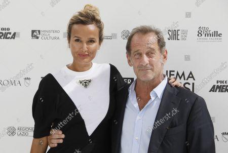 Julia Ducournau and Vincent Lindon