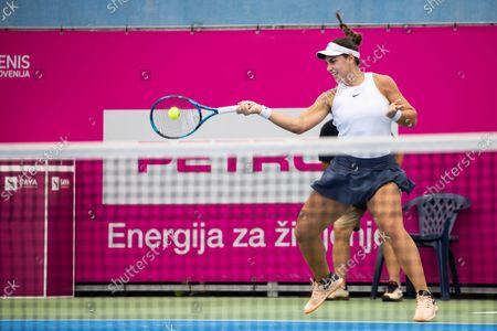Editorial image of WTA 250 Zavarovalnica Sava Portoroz Tennis tournament, Day 5, Slovenia - 15 Sep 2021