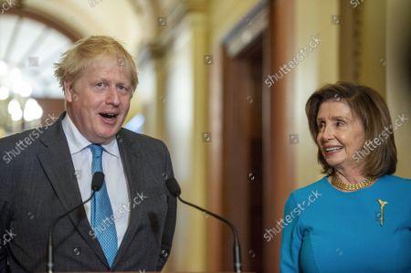 Boris Johnson visit to Washington DC
