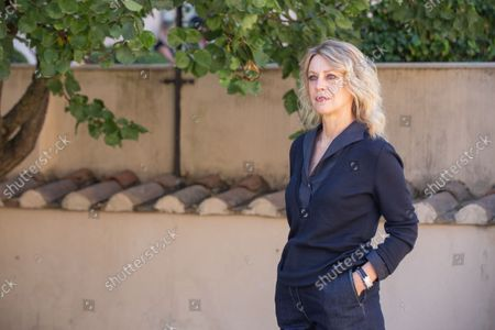"""Stock Image of Margherita Buy attends photocall of the film """"Tre Piani"""" in Rome"""