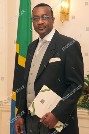 Stock Picture of Tanzanian High Commissioner, Peter Allan Kallaghe