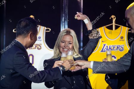 Editorial picture of Lakers announce new marketing partnership, Ucla Health Training Center, Los Angeles, California, USA - 20 Sep 2021