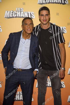Samy Naceri and son